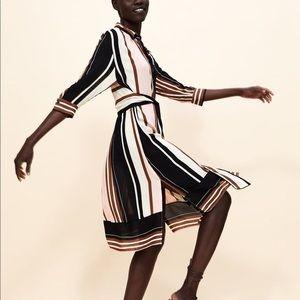 Long Striped Dress